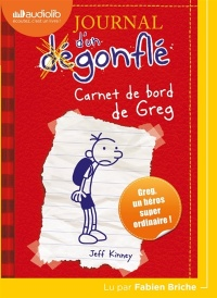 Journal d'un dégonflé T.1: Carnet de bord de Greg...CD mp3 (2h24) - Jeff Kinney
