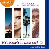 Vignette du livre D.I.M.I.L.Y.  T.1 : Did I Mention I Love you ?  CD mp3 (8h55) - Estelle Maskame