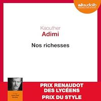 Nos richesses  CD mp3  (3h49) - Kaouther Adimi