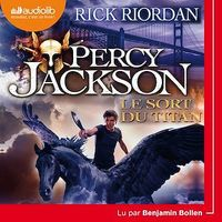 Vignette du livre Percy Jackson T.3 : Le sort du Titan  CD mp3  (8h54)