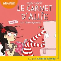 Le carnet d'Allie T.1 : Le déménagement  CD mp3  (3h46) - Meg Cabot