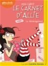 Vignette du livre Le carnet d'Allie T.1 : Le déménagement  CD mp3  (3h46)