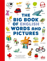 Vignette du livre The Big Book of English Words and Pictures