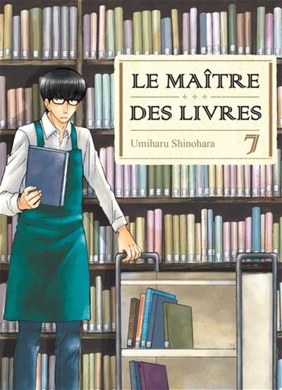 le ma tre des livres t 7 par umiharu shinohara bande dessin e manga seinen adultes. Black Bedroom Furniture Sets. Home Design Ideas