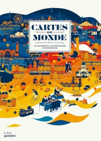 Vignette du livre Cartes du monde : selon 90 graphistes & illustrateurs