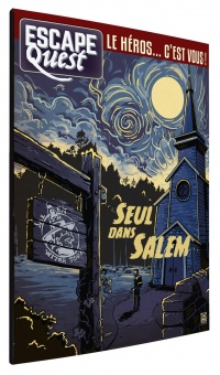 Escape Quest T.3 : Seul dans Salem - Julien Mindel