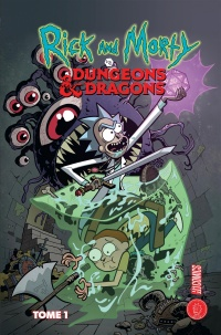 Vignette du livre Rick and Morty vs Dungeons & Dragons T.1