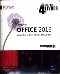 Microsoft Office 2016 : Word, Excel, PowerPoint et Outlook - Myriam Gris