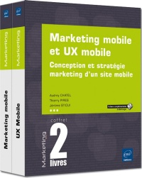 Vignette du livre Marketing mobile et UX mobile : les clés de la conception...