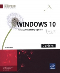 Vignette du livre Windows 10 : includes Anniversary Update - Myriam Gris