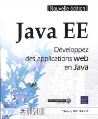 Vignette du livre Java EE : développez des applications Web en Java - Thierry Richard