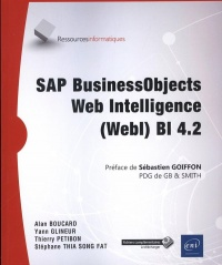 Vignette du livre SAP BusinessObjects Web Intelligence (Webl) Bl 4.2