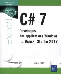 Vignette du livre C# 7: développez des applications Windows avec Visual Studio 2017