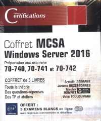 Vignette du livre Coffret MCSA Windows Server 2016