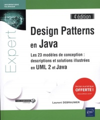 Vignette du livre Design Patterns en Java : les 23 modèles de conception