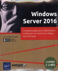 Vignette du livre Windows Server 2016