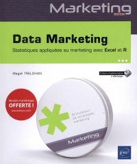 Vignette du livre Data marketing : statistiques appliquées au marketing avec Excel