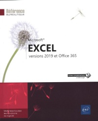 Vignette du livre Excel : versions 2019 et Office 365