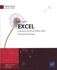 Vignette du livre Excel : versions 2019 et Office 365 : fonctions de base