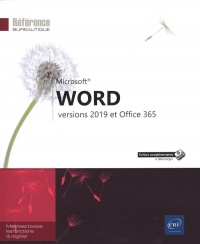 Vignette du livre Word Versions 2019 et Office 365