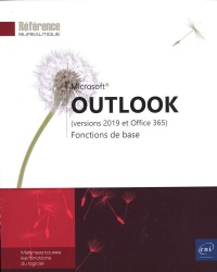 Vignette du livre Outlook : versions 2019 et Office 365 : fonctions de base