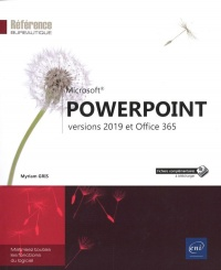 Vignette du livre PowerPoint : versions 2019 et Office 365