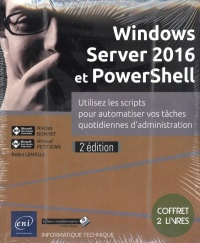 Windows Server 2016 et PowerShell, Robin Lemesle