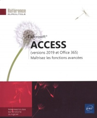 Vignette du livre Microsoft Access : versions 2019 et Office 365 Notions avancées