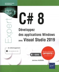 Vignette du livre C# 8: développez des applications Windows avec Visual Studio 2019