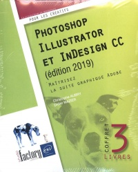 Vignette du livre Photoshop, Illustrator et InDesign CC - Didier Mazier, Christophe Aubry