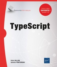 Vignette du livre TypeScript : notions fondamentales