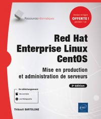 Vignette du livre Red Hat Enterprise Linux CentOS: mise en production et