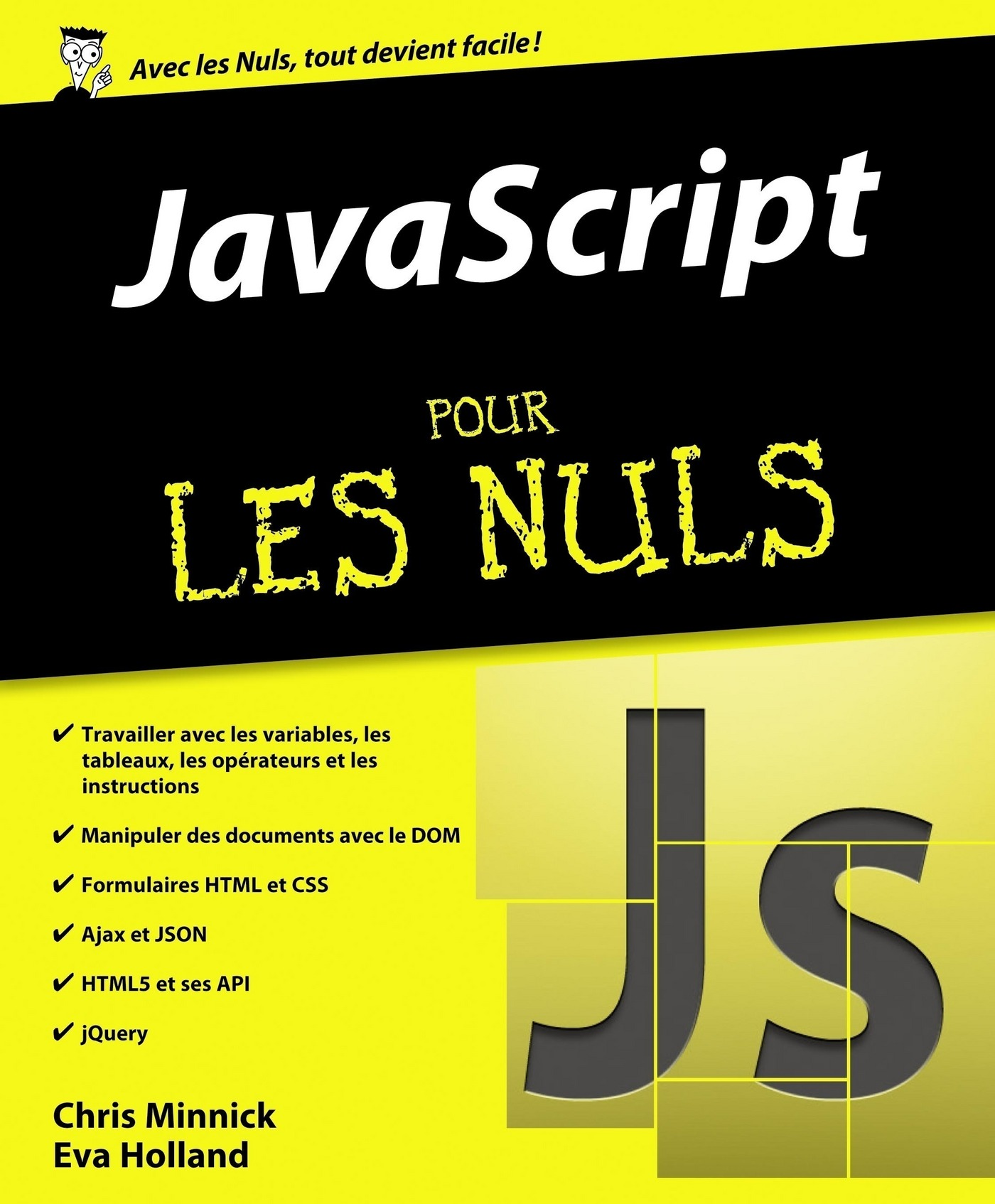 Vignette du livre JavaScript pour les nuls - Chris Minnick, Eva Holland
