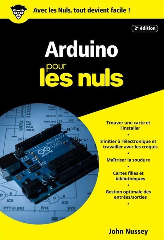 Arduino pour les nuls par john nussey science