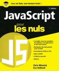 JavaScript pour les nuls, Eva Holland