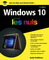 Windows 10 pour les nuls - Andy Rathbone