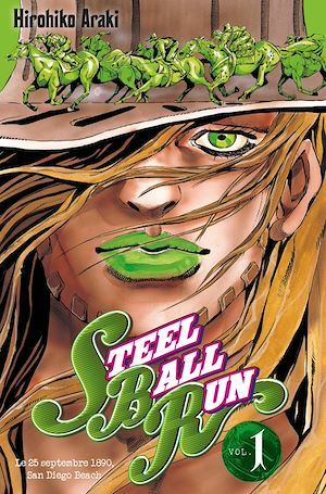 Vignette du livre Steel Ball Run T.1