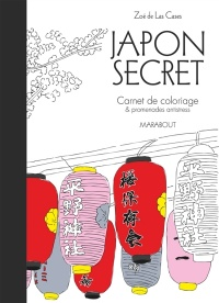 Vignette du livre Japon secret: carnets de coloriage et cartes postales anti-stress