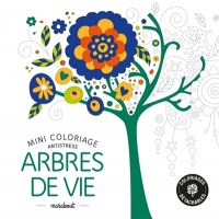 Arbres de vie: mini coloriage antistress