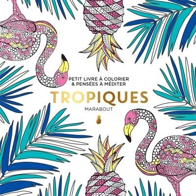 Coloriage Adulte Marabout.Tropiques Petit Livre A Colorier Pensees A Mediter Loisirs