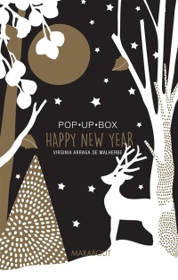 Vignette du livre Happy New Year : Pop up box
