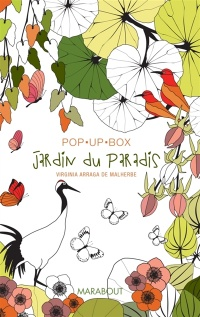 Vignette du livre Jardins du paradis : Pop up box