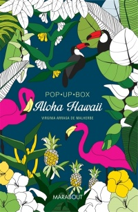 Vignette du livre Aloha Hawaii : pop up box