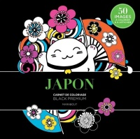 Japon : carnet de coloriage