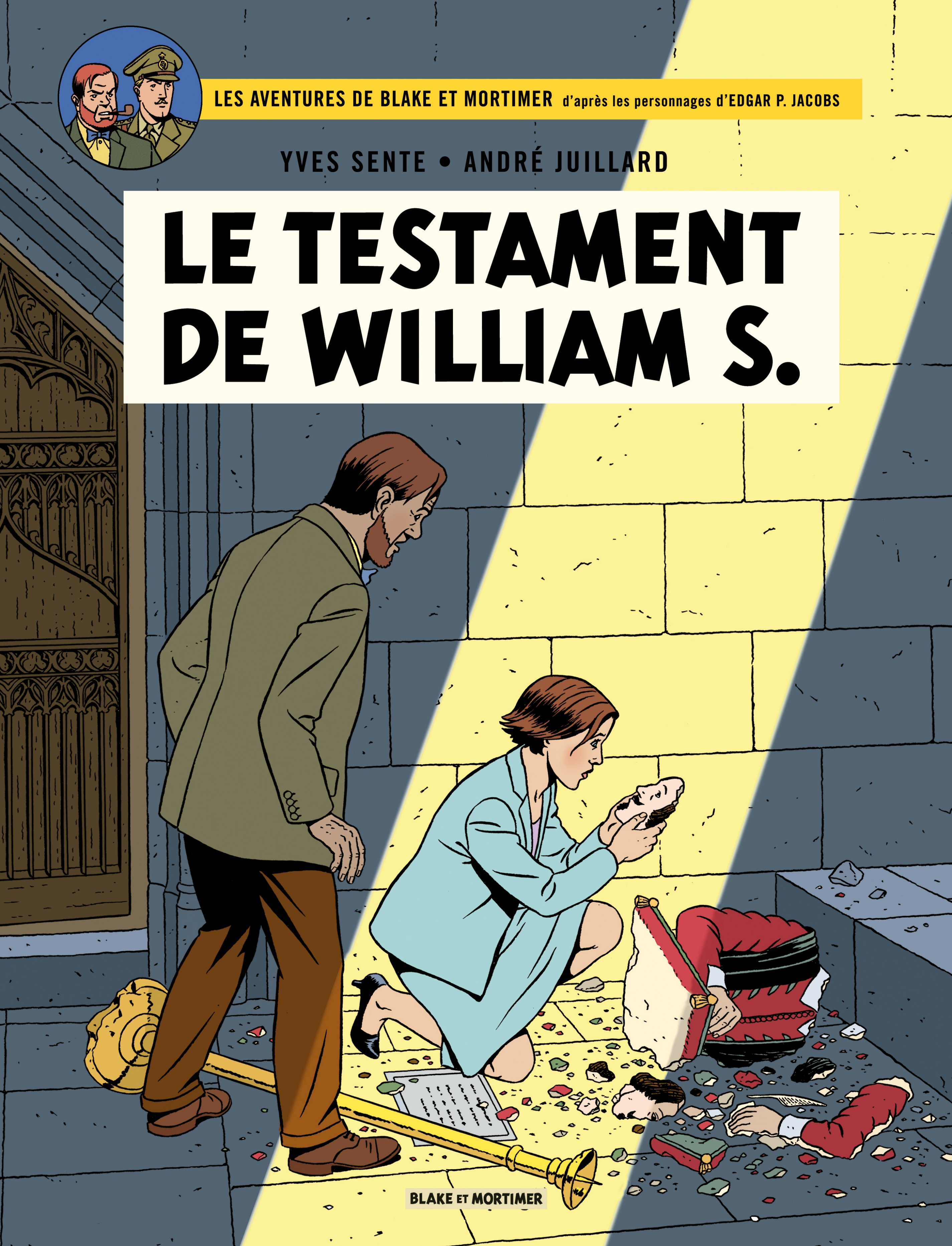 Vignette du livre Blake et Mortimer T.24 : Le testament de William S.