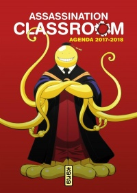 Vignette du livre Assassination Classroom : agenda 2017-2018