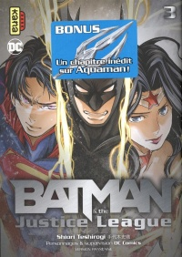 Vignette du livre Batman & the Justice League T.3