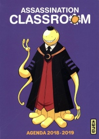 Vignette du livre Assassination Classroom : agenda 2018-2019