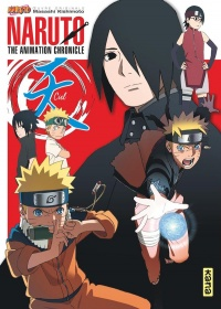 Vignette du livre Naruto : the animation chronicle