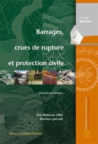Vignette du livre Barrages, crues de rupture et protection civile (2e édition)